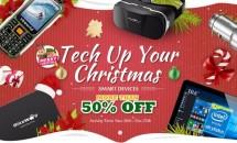 Banggood クリスマス関連セール『Tech Up Your Christmas』開催中、6.98型Windows 10 mobile「Cube WP10 4G」が1.5万円ほか