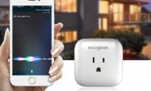 Siri/Wi-Fiで電源管理『Koogeek P1 スマートコンセント』開封レビュー+割引クーポンコード