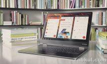 未発表12.2型Lenovo Yoga YB-Q501F-GGがフライング掲載、発売日・360度回転・タッチキーボードなど