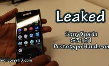 Sony Xperia XA後継機(G3121)プロトタイプのハンズオン動画が登場