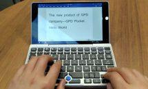 7型UMPC『GPD Pocket』試作機の実機・ゲームデモ動画が公開される、付属品やスケジュール