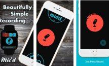 iPhone/iPadアプリセール 2016/4/7 – Apple Watch対応レコーダー『Mic'd』などが無料に