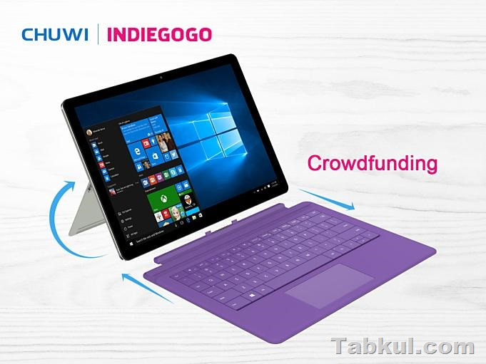 Chuwi Surbook Crowdfunding 7th