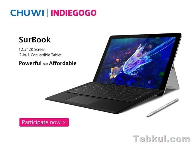 Chuwi Surbook Indiegogo 8th