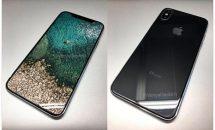 iPhone8 ダミーのロック画面イメージが公開、ベゼルレスに