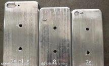 5.8型iPhone 8の金型リーク、4.7型iPhone 7sより僅かに大きいサイズか