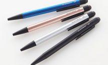 タッチペン付きボールペン『ジェットストリーム スタイラス シングルノック』発表、価格・発売日