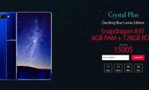 3辺ベゼルレスのフラッグシップ『UMIDIGI Crystal Plus』登場、RAM6GB+SD835などスペック