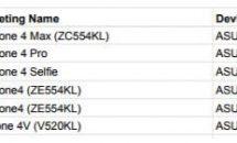 ASUS未発表『ZenFone 4』シリーズ6機種の名前リーク、Google認定取得で