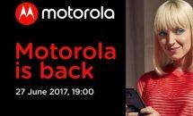 モトローラ、6月27日にイベント「Motorola is back」開催―Moto Z2/Z2 Force発表か