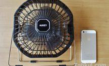 7/11まで限定クーポンあり、7インチUSB扇風機『AUKEY EF-D01』製品レビュー・感想