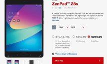 7.9インチ『ASUS ZenPad Z8s(ZT582KL)』がVrizonで発売、スペック・価格