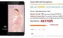 Xiaomi Mi 6が50%OFFに、GearBestで半額クーポン放出中(限定20台など制限あり)