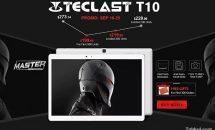 指紋センサー10.1型フラッグシップ『Teclast T10』予約セール開始 #GearBest