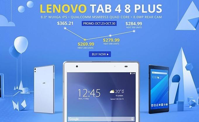 GearBest-lenovo-tab4-8-plus-Sale-20171026