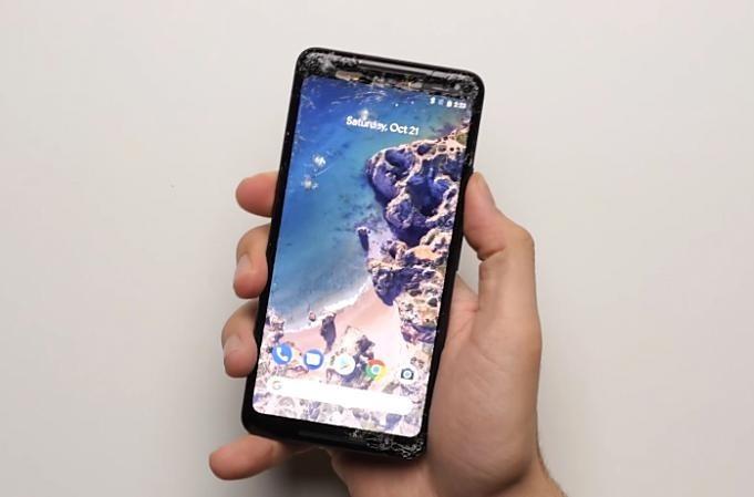 Google-Pixel-2-XL-droptest