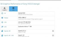 Xperia初の前面デュアルカメラ搭載か、6型Sony H3213 AvengerのスペックがGFXBenchでリーク
