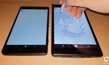 Surface Pen対応のWindowsスマートフォン動画、折り畳み式タブレットへ繋ぐか