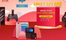 100台限定で7型UMPC『GPD Pocket』が51752円に、geekbuyingで参加全員もらえるGIFT RAIN開催中