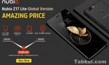 SBプラチナバンド対応RAM6GB『ZTE Nubia Z17 Lite』発売、スペック・価格