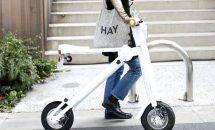 公道・玄関OKな折り畳み電動バイク『Cute-ml』が出資募集中、動画ほか