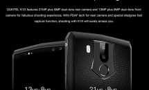4カメラ/RAM6GBの6型『OUKITEL K10』発売セール、新年キャンペーンも開催中 #GearBest