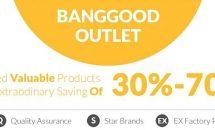 最大70%OFF、スマホやタブレットなどが値下げ「Banggood アウトレットセール」開催中/型落ちRAM8GB「OnePlus 5」など3製品にクーポン