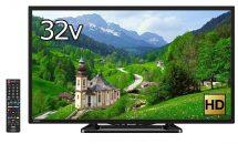 (終了)2/12限り、シャープ32V型 液晶テレビAQUOS(2017年モデル)が特選商品など値下げ中―Amazonタイムセール