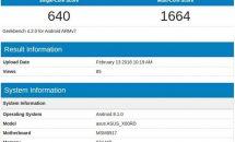 ASUS初のAndroid Goスマートフォンか、X00RDがGeekbenchに登場・スペック