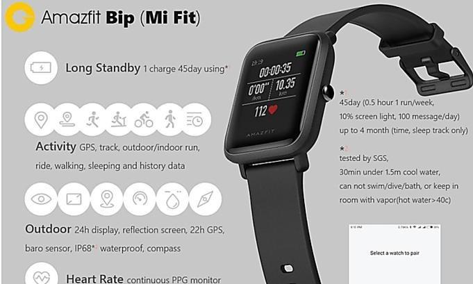 xiaomi-huami-amazfit-bip-mi-fit-smart-watch