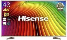 (終了)4/6限り、ハイセンス 43V型4K対応 液晶テレビなどが値下げ中―Amazonタイムセール