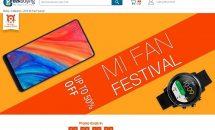 (リンク訂正)通信3社プラチナ対応の最新ベゼルレス『Xiaomi Mi MIX 2S』も対象に、geekbuyingでXiaomiキャンペーン開催中