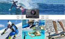 先着250台まで2699円OFF、AUKEY 4KアクションカメラAC-LC2の30%割引セール