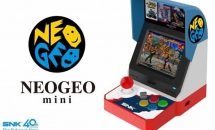 SNKが『NEOGEO mini』発表、手のひらサイズ3.5型40タイトル収録のゲーム機