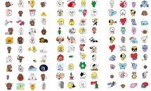 LINE、新たに動く無料スタンプ120種類の追加を発表