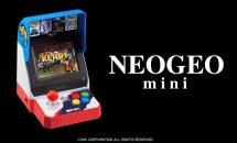 NEOGEO mini 収録タイトル40本と発売時期が発表、対戦用コントローラーも投入!!