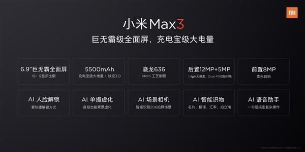 XIaomi-Mi-Max-3-Specs-Officially-Confirmed