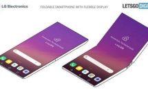 LGが折り畳みスクリーンのスマートフォン特許出願、画像