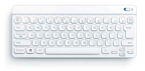 新しいiPad で Bluetoothキーボードが使えるまでの画像集