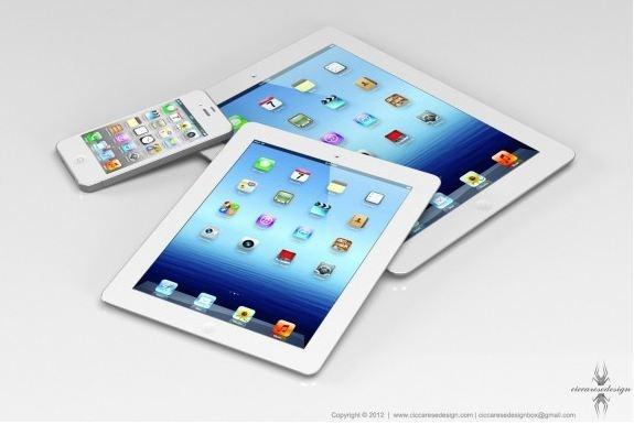 7インチ「iPad mini」はRetina液晶でLTE対応 9月上旬発売か