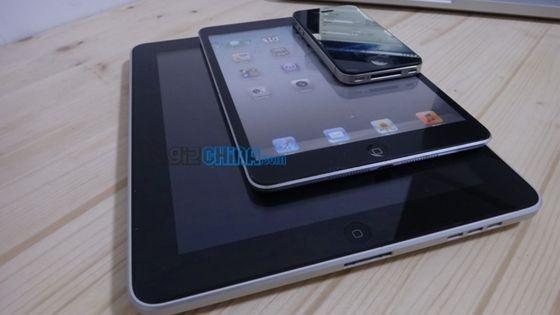 えっ!? iPad mini (ダミー)のハンズオン動画だそうです。