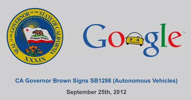 Google の自動運転カーがカリフォルニアの公道を走れるようです。。。