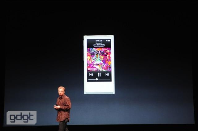 2.5インチ + BT搭載 + 5.4ミリ「iPod nano」は液晶付き!16GBで149ドル
