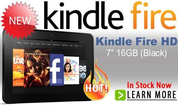 海外ショップに入荷! Kindle Fire HD 7インチの価格