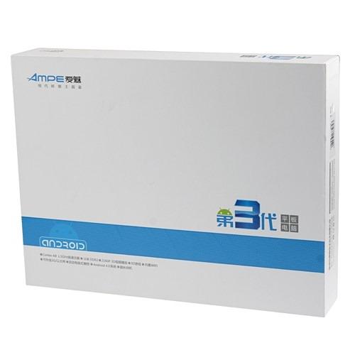 価格判明!クアッドコア 10.1インチ(1280×800)「Ampe A10 四核版」 は220ドル