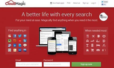 高速 横断検索アプリ 「CloudMagic」のインストールと感想 (Android)