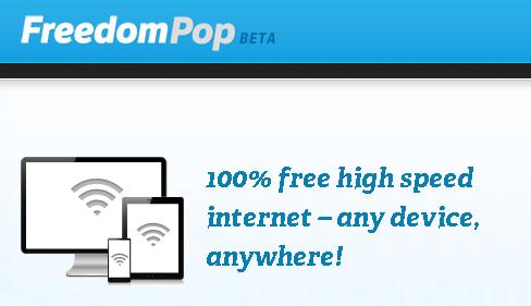 米:無料モバイル通信 「FreedomPop」 のβ開始、縛りなし月500MB分無料(動画あり)