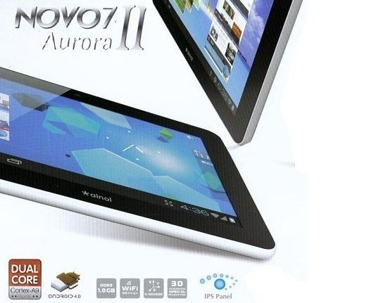 値下げ!中華タブレット「Ainol NOVO7 Aurora 2(II)」が1万円以下に