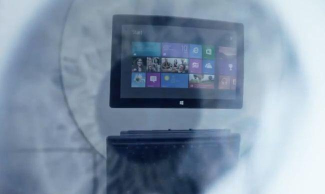 マイクロソフト、Windows RT 「Surface」の新CMを公開中