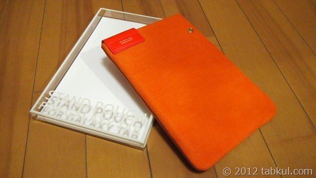 Nexus 7 用のソフトケース「Stand pouch」到着!スタンド化してみた